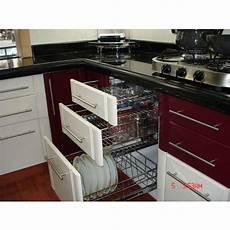 Kitchen Accessories Wholesalers In Hyderabad by Modern Stainless Steel Modular Kitchen Cabinet Rs 60