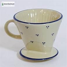 keramik kaffeefilter kaffeefilter landhaus keramik rheinsberg onlineshop