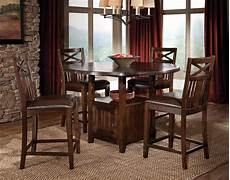 kitchen high table sets stylize your dining or kitchen area with this striking contemporary