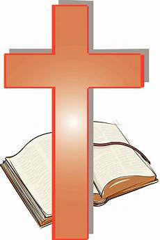 Bible And Cros Clipart