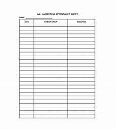 10 attendance list templates pdf doc xls free premium templates
