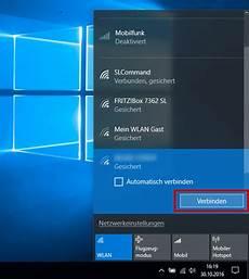 mit wlan verbinden 1 1 hilfe center wlan verbindung mit windows 10 einrichten