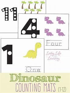 dinosaurs counting worksheets 15283 dinosaur counting mats