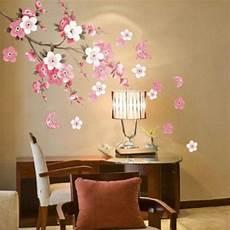home decor wall decals aliexpress buy flower bedroom room vinyl