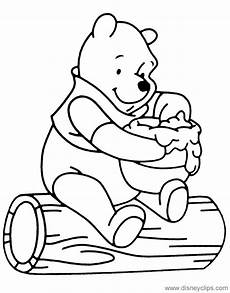 winnie the pooh honey coloring pages disneyclips