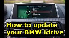 How To Update Bmw Idrive Software