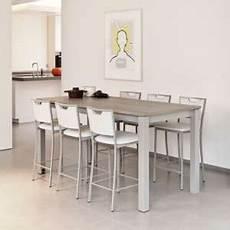 table de cuisine en verre 66245 table extensible 4 pieds
