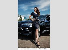 Girl Car Stock Images, Royalty Free Images & Vectors