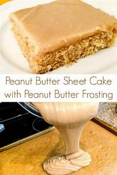 peanut butter sheet cake with peanut butter frosting peanut butter sheet cake a turtle s life for me