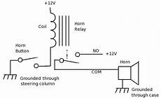 Horn Schematic Circuit Diagram Images