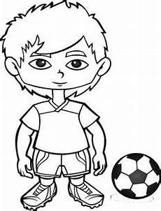 Ausmalbilder Jungs Fussball Ausmalbild M 228 Dchen Mit Fu 223 Malvorlage Zum Ausdrucken