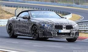 2020 BMW M8 Convertible Spy Shots