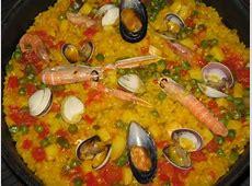 portuguese arroz con mariscos seafood and rice_image