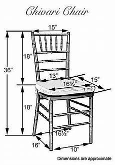 chiavari chair dimensions sillas eventos sillas