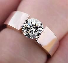 wedding rings men woman classic engagement ring silver 18k