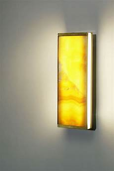 yellow onyx wall l tech small model 30cm matlight applique made in marble r 233 f 18060359