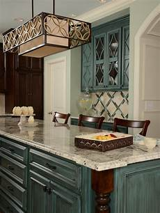 teal kitchen houzz