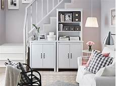 stylish storage for small living rooms ikea