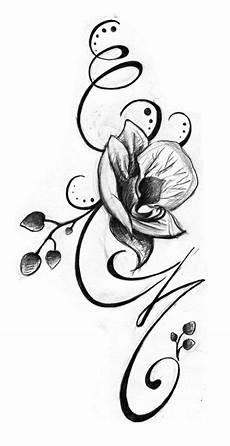 Vorlagen Frau - blumenranken vorlage orchidee ideen f 252 r frauen