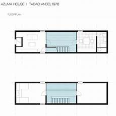 azuma house plan azuma house sumiyoshi japan 1978 tadao ando famous