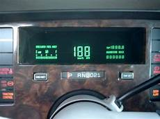 how cars run 1993 cadillac fleetwood instrument cluster 1993 cadillac fleetwood brougham automobiles digital dashboards of the 1980 s digital