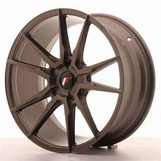 japan racing wheels jr 21 matt bronze 19x8 5 zo japan