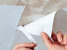 Vliestapete An Der Decke Tapezieren Selbst De