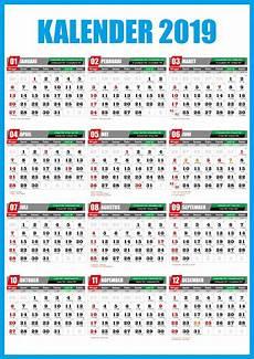 kalender 2019 gratis sa pu gratis format kalender 2019 vector