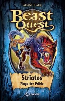 Beast Quest Malvorlagen Quest Beast Quest 44 Striatos Plage Der Pr 228 Rie Adam Blade