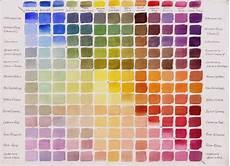 acrylic color mixing chart printable color mixing chart watercolor mixing color mixing