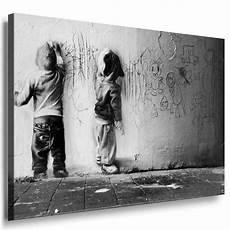 Banksy Graffiti Bild Auf Leinwand Kunstdruck