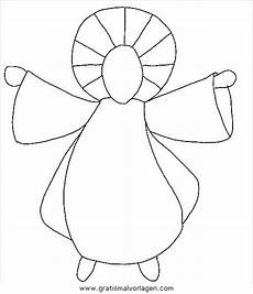 Malvorlagen Engel Einfach Engel 52 Gratis Malvorlage In Engel Weihnachten Ausmalen