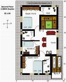 south facing duplex house plans my little indian villa 43 r36 3 5bhk duplex in 30x50