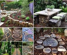 12 Ideas To Decorate Your Garden With Rocks And Stones