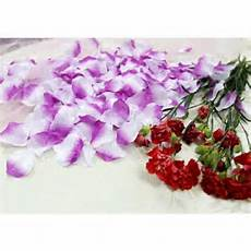 5000x lavender and white purple silk rose petals wedding bridal party flower decoration table