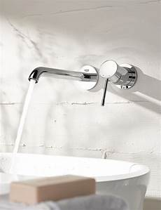 Mitigeur Lavabo Mural Essence New Grohe Induscabel