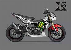 Modifikasi Satria Injeksi by Konsep Modifikasi Suzuki Satria Injeksi Racing Look Dc