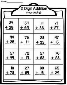 addition without regrouping grade 1 2 digit addition with regrouping subtraction worksheets