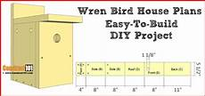 wren house plans wren bird house plans easy diy project pdf download