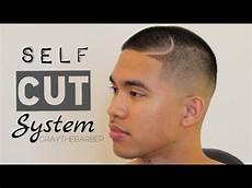 self cut system mid bald fade nas part cut your own hair youtube