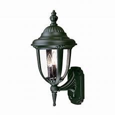 acclaim lighting surrey collection wall 3 light outdoor matte black light fixture 7212bk