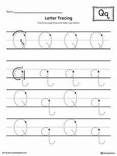 letter tracing worksheets q 23275 letter q tracing printable worksheet myteachingstation