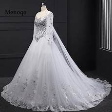 picture of wedding gown gown sleeve beaded applique watteau