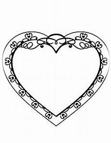ausmalbilder zum drucken malvorlage valentinstag kostenlos 2