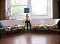 Living Livelier: Bath Tub Couch
