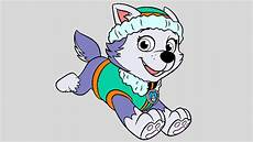 Malvorlagen Paw Patrol Everest Paw Patrol Coloring Pages For Paw Patrol Coloring
