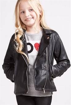 veste en cuir ado veste perfecto en simili cuir pour enfant kid canaille