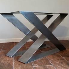 pieds de table design z shape steel table legs desk legs strong and sturdy set