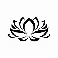 disegni fiore di loto stencil floral lotus flower stencil decoration 5 sizes svg