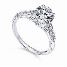 engagement rings 200 18k white gold vintage inspired amavida engagement